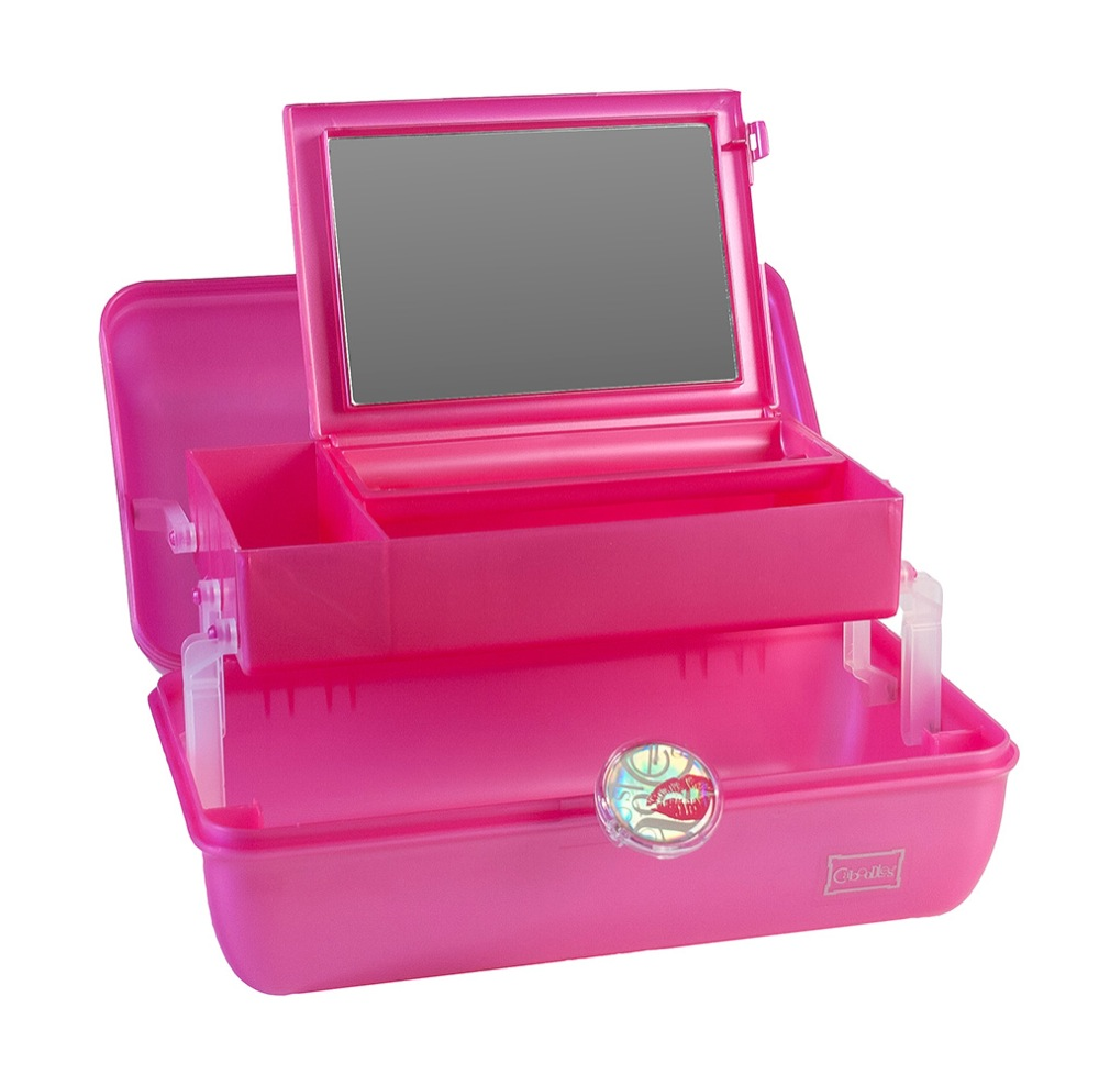 On the Go Girl Cosmetic Case by Caboodles Division of Plano Molding