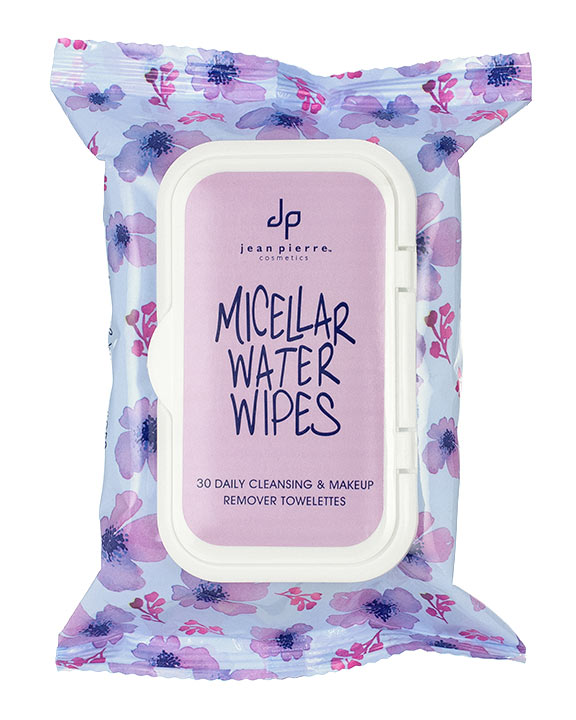 Micellar Water Cleansing Wipes by Jean Pierre, Inc.