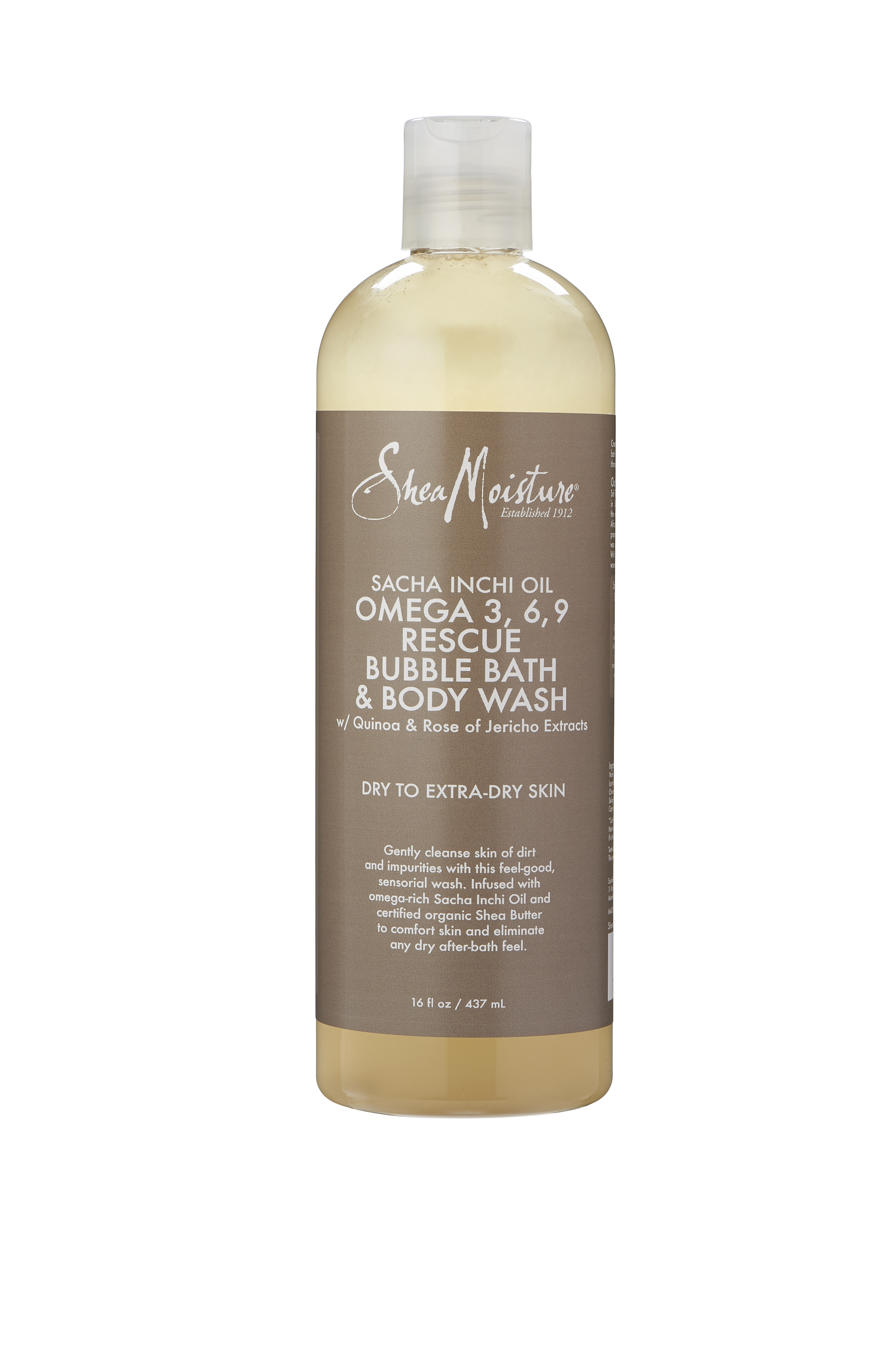 Omega-Rich Bubble Bath & Body Wash for Dry to Extra-Dry Skin by Sundial Brands LLC