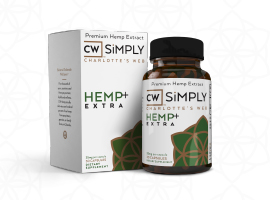 CW Simply: The World's Most Trusted Hemp Extract in a Capsule by Charlotte's Web