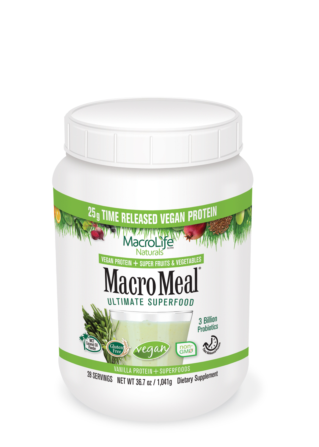 "NEW MacroMeal ""Time Released Protein"" Powders by MacroLife Naturals"