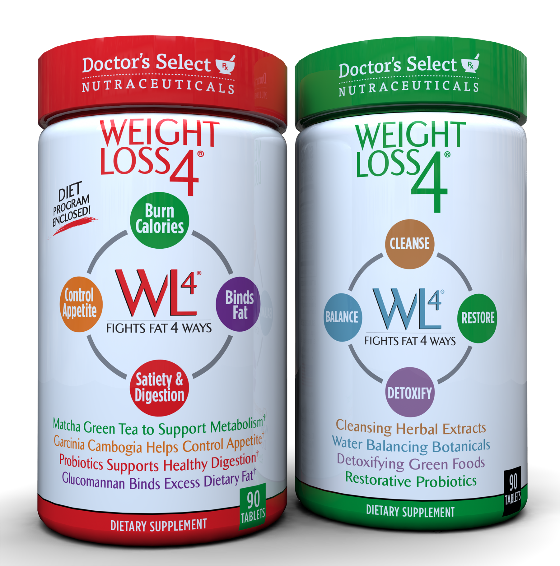 Doctor's Select Weight Loss 4 - Includes 4 Popular Ingredients in 1 Convenient Formula by Windmill Health Products