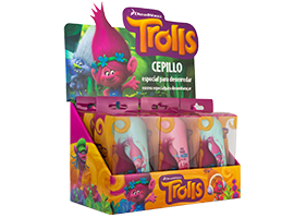 Trolls Brush by DESSATA