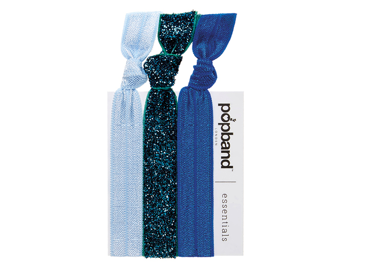 "Popbands - soft, stretchy, ""no dent"" hair bands that hold hair up tight & leave it fresh & kink-free. Buyer's Choice Winner!"