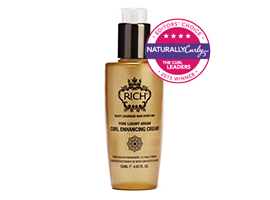 Revives dry, tired hair to deliver defined curls that are full of natural bounce by RICH International Creative Haircare Ltd.