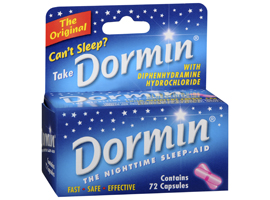 Dormin Sleep-Aid Capsules by Randob Laboratories Ltd.