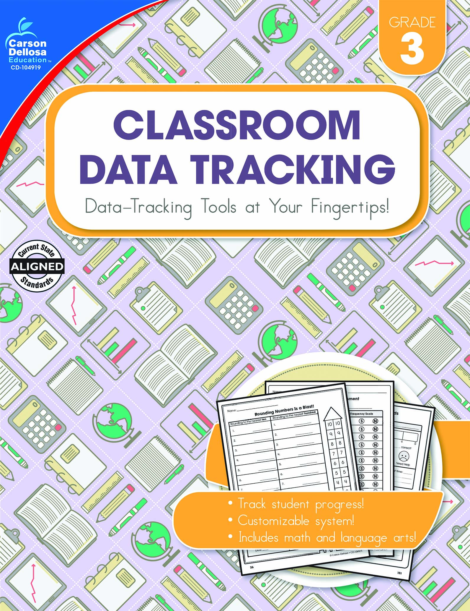 Classroom Data Tracking titles by Carson-Dellosa Publishing