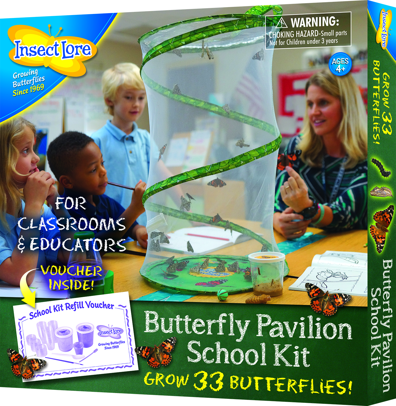 Butterfly Pavilion School Kit by Insect Lore