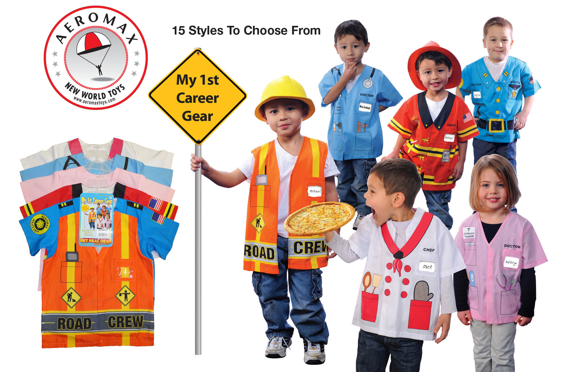 My 1st Career Gear from Aeromax. 15 different styles to choose from. Ages 3-6 by Aeromax, Inc.