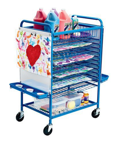 Angeles® Mobile Drying Rack is excellent for special projects and storage