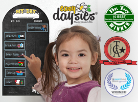 Magnetic Daily Schedules for School & Home by Easy Daysies®