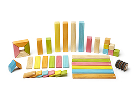 42-Piece Set in Tints by Tegu Corporation