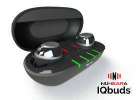 IQbuds™ – Super Intelligent Wireless Earbuds by Nuheara