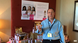 Miverva Pure Gold Collagen is an example of new delivery systems for nutritional products -- the 1.7-ounce shot includes collagen for healthier skin (see video below)