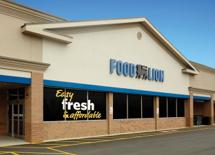 """As we near our 60th anniversary, we spent the year making significant investments in our stores, customers, associates and communities to create a new grocery shopping experience. Now, customers can easily find fresh, quality products at affordable prices, delivered with caring, friendly service every time they shop."" -- Meg Ham, President of Food Lion"