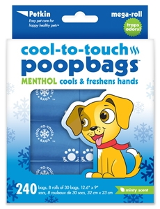 Cool-to-touch Poop Bags by Petkin Inc