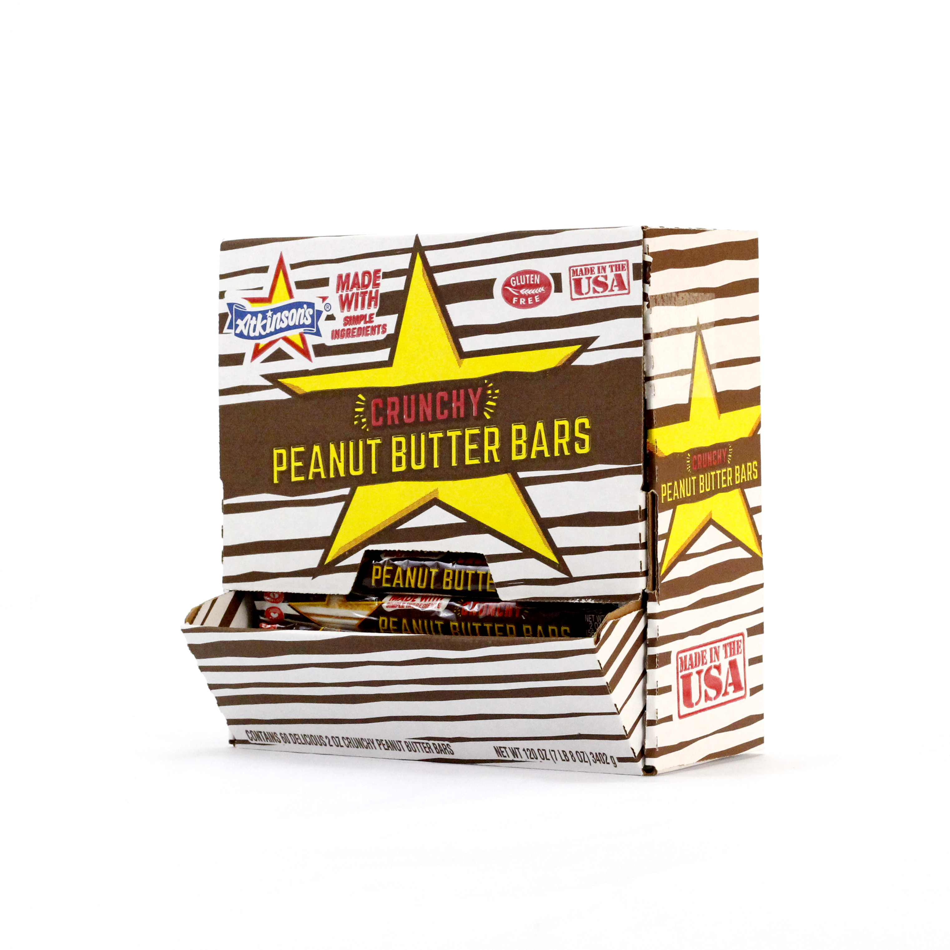 Peanut Butter Bar 2oz. Count Good by Atkinson Candy Company