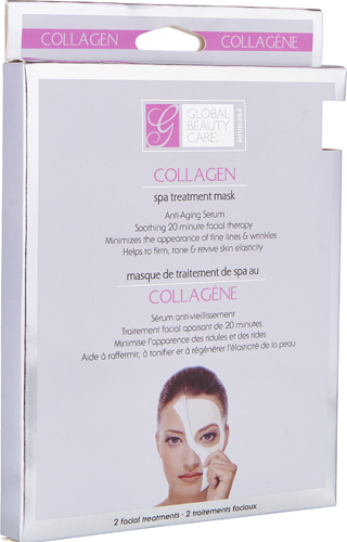 2ct Collagen Spa Treatment Mask by Global Beauty Care