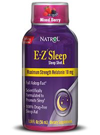 Melatonin liquid shot to relax & fall asleep fast by Natrol LLC