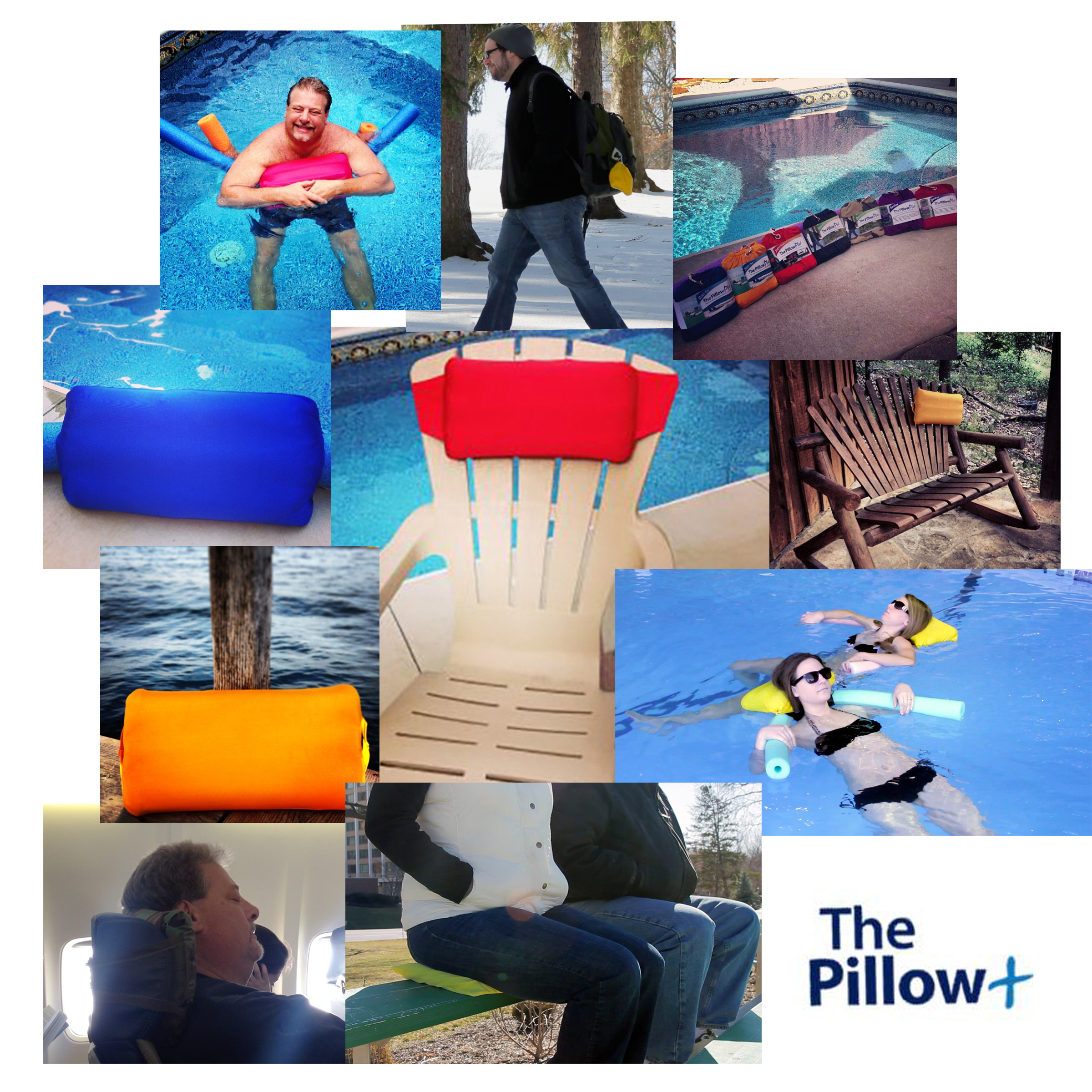 The most versatile pillow you will ever need by The Pillow+