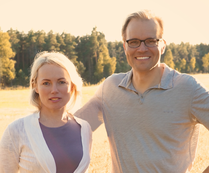 Founders of Nothing But Real Helena Lumme and Mika Manninen
