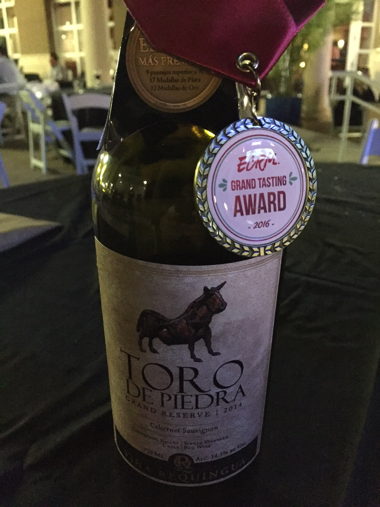 Puerto Viejo Wines LLC won the Grand Tasting Gold Medal for the Wine Category