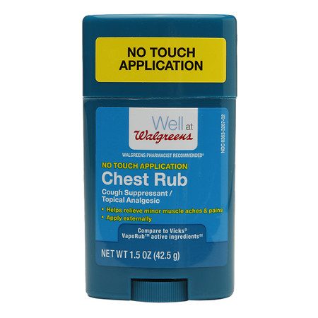 Walgreens Chest Rub Vapo Stick is an example of a solution that wasn't being addressed by national brands