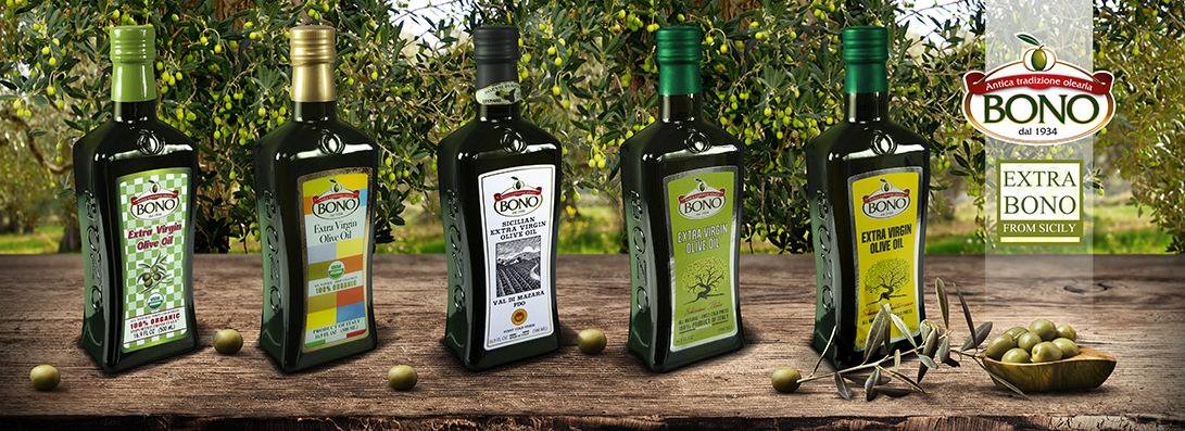 Sicilian Protected Designation of Origin (P.D.O) Val Di Mazara Extra Virgin Olive Oil by Bono USA Inc