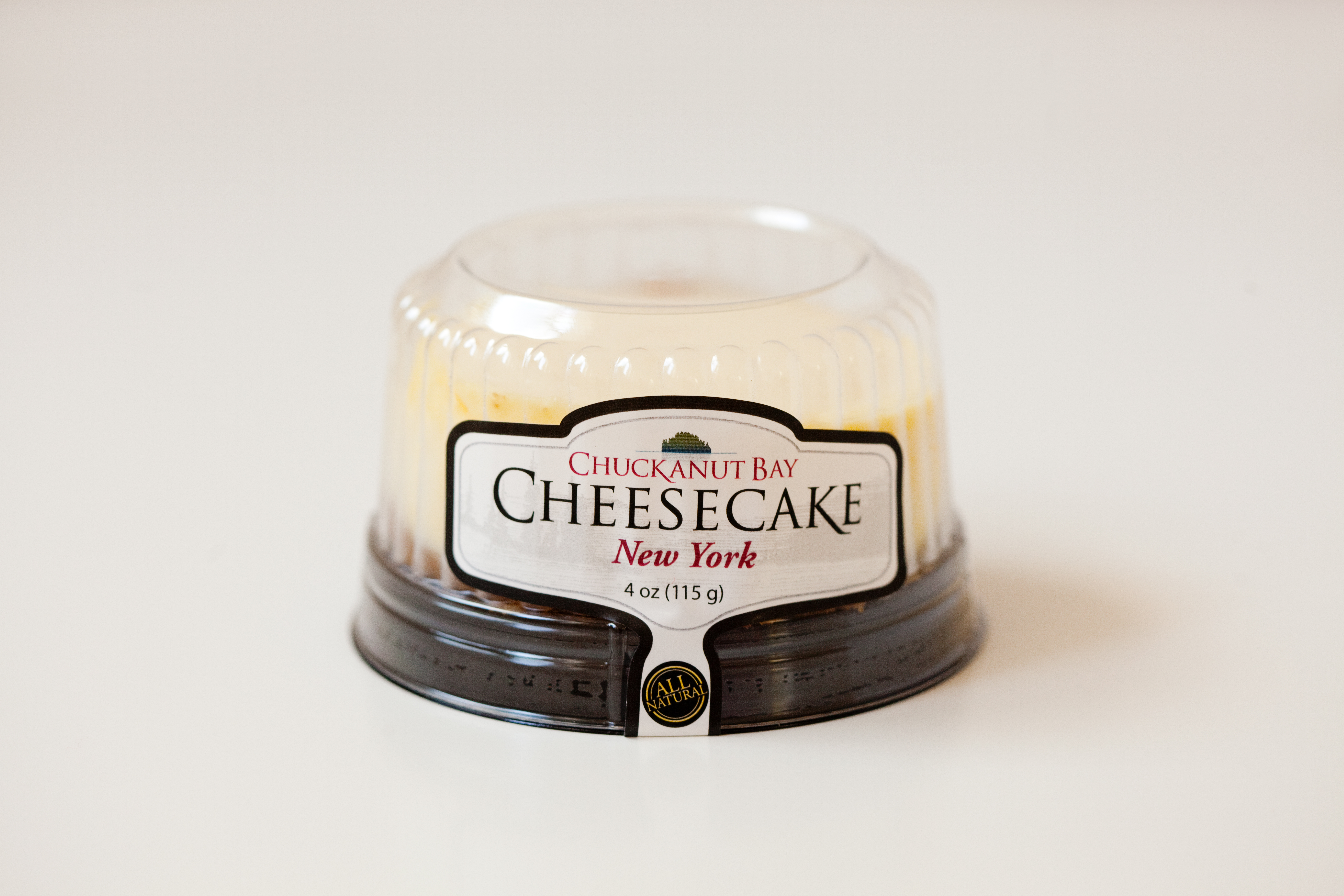 Chuckanut Bay 4 oz New York Cheesecake by Chuckanut Bay Foods