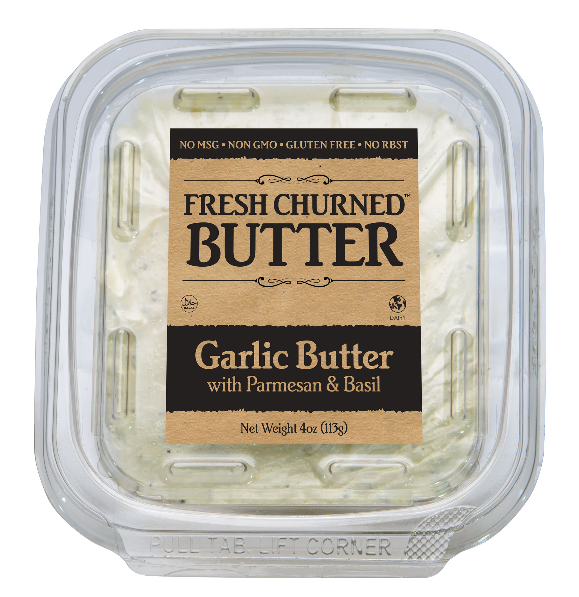 Fresh Churned Shelf Stable Real Garlic Butter by DFS Gourmet Foods