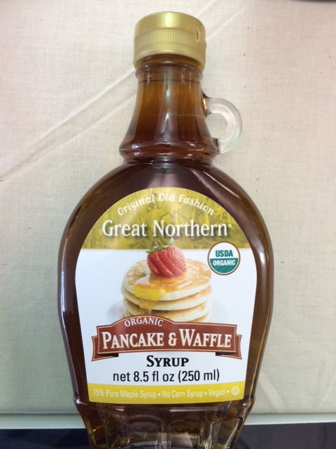 100% ORGANIC Pancake-Waffle Syrup...NO ADDITIVES.  Now Available in 12/8.5 Glass by L.B. Maple Treat Corporation