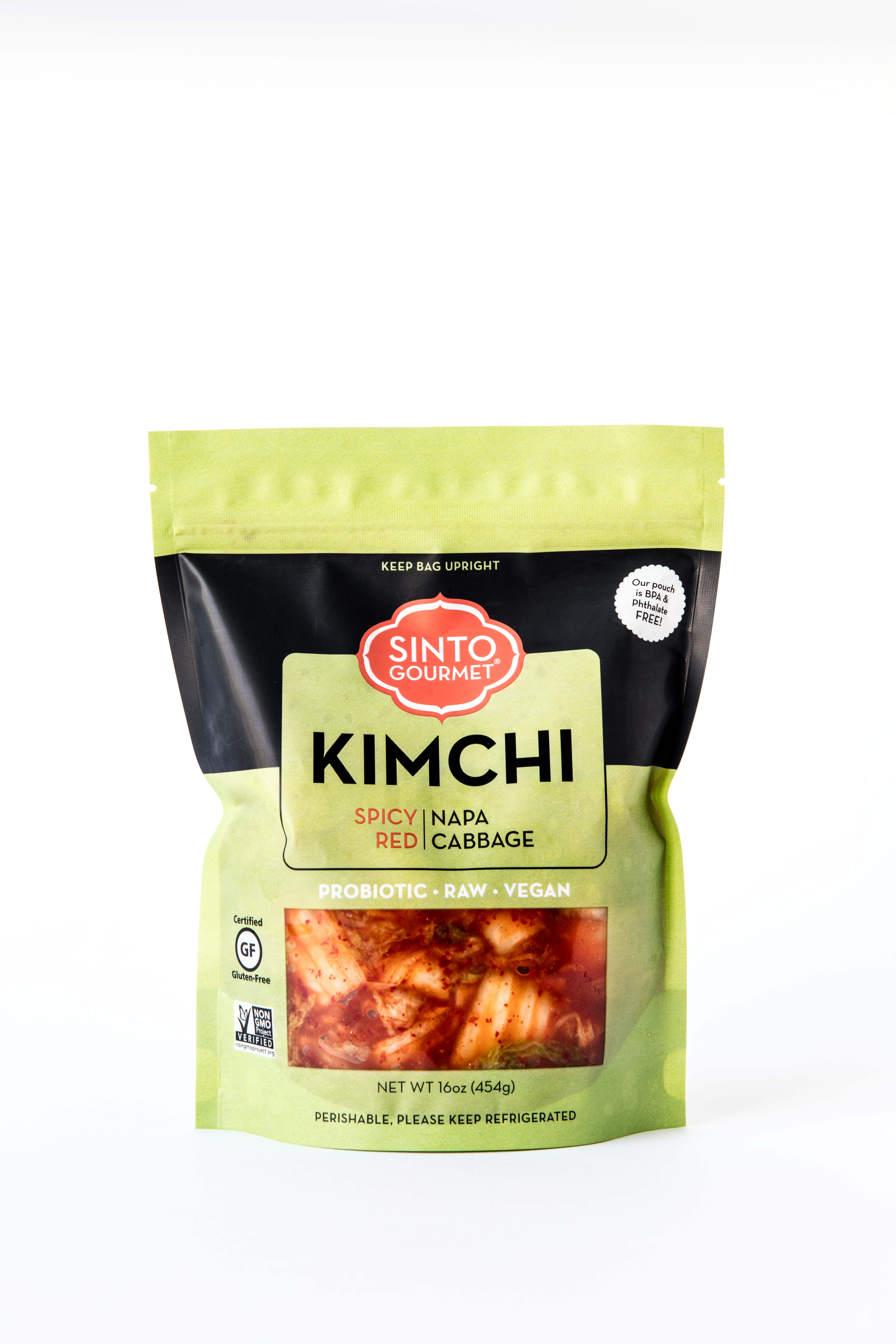 Raw and Vegan Authentic Kimchi by Sinto Gourmet