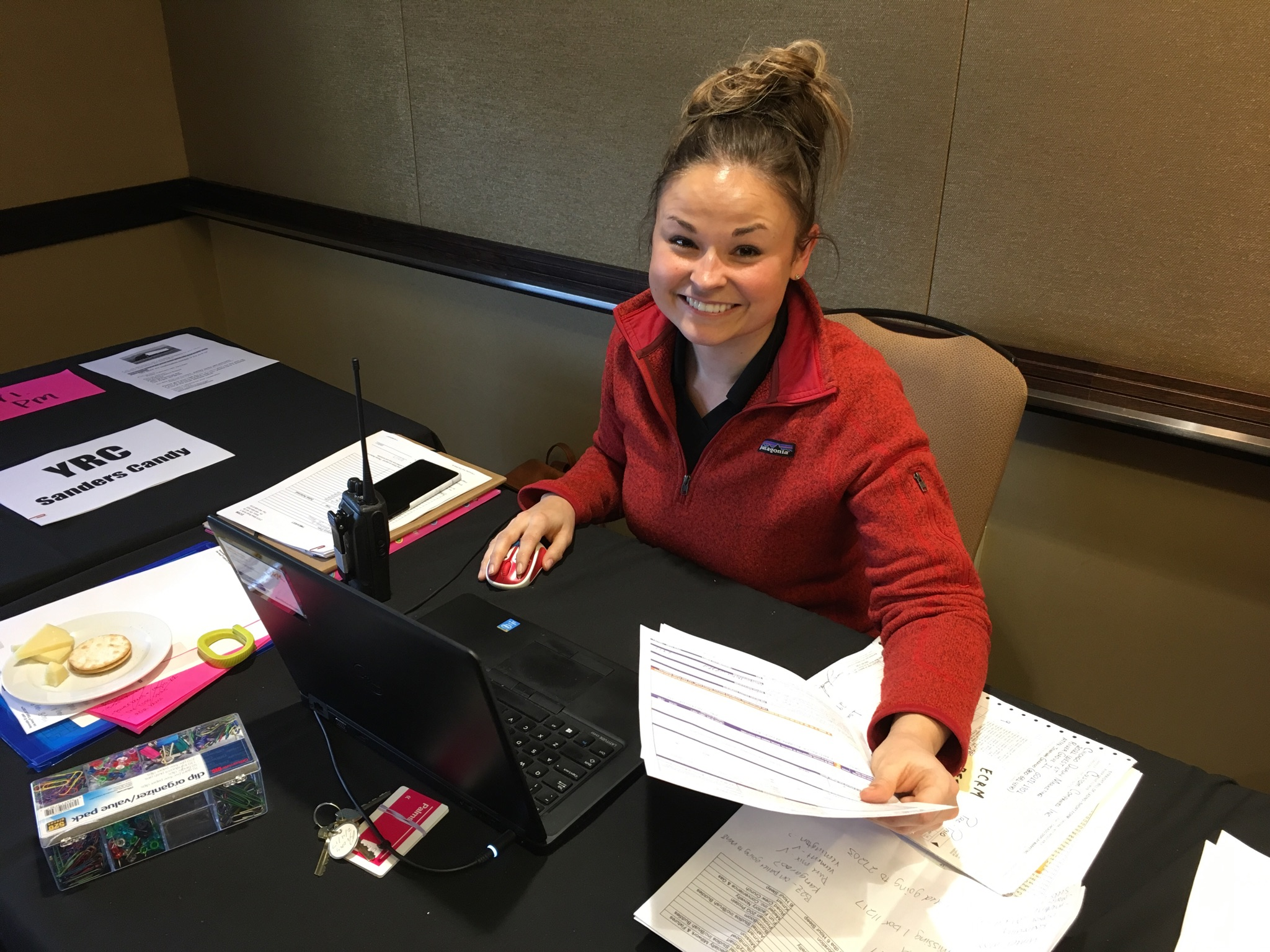 EPPS Freight Manager Ashley Jenks at ECRM's Candy Planning EPPS