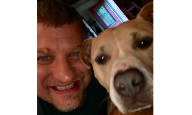The age of ecommerce is drastically changing the U.S. market for products and services for dogs, cats, and other household pets (Photo: the author and his Pitbull pal, Sandy)