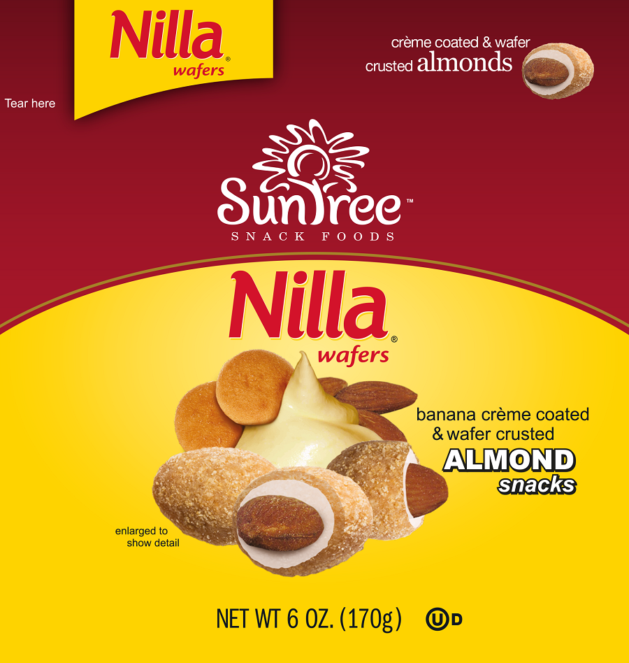 Buyers Choice Award - Snacks, 1st Place: SunTree Snack Foods' Nilla Almond Snacks