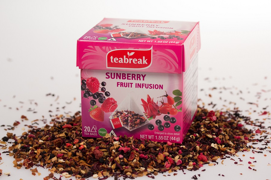 Buyers Choice Award - Dry Grocery, Finalist: Florapharm Tea USA's Sunberry Fruit Infusion