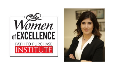 RangeMe Founder and CEO was named one of the Path to Purchase Institute's Women of Excellence award winners for the Innovation category