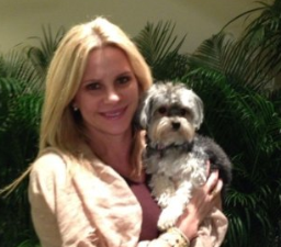 Big Creek Foods VP of Sales Jessica Broder with her dog Charley