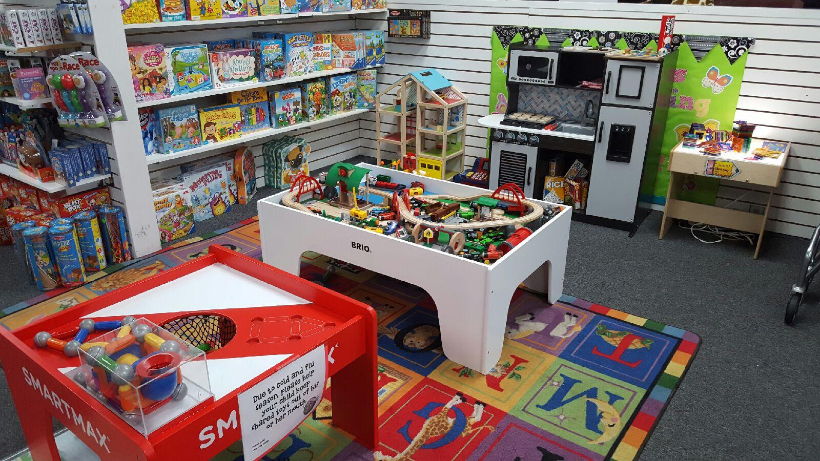 ABC & Toy Zone's in-store play area