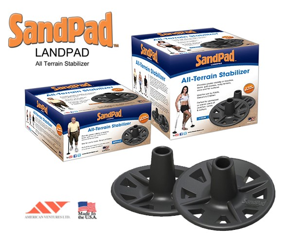 American Ventures, Ltd. - The SandPad LandPad All Terrain Stabilizer