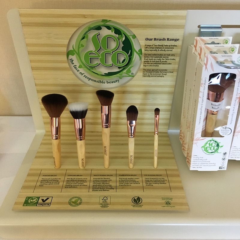 Eco-friendly makeup brushes -- part of the natural beauty trend