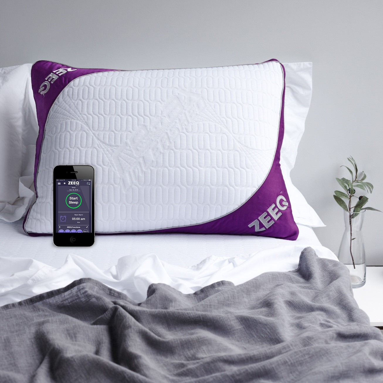 Rem-Fit's ZEEQ Smart Pillow