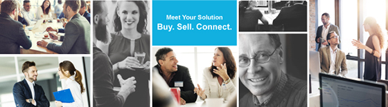Meet Your Solution: Buy. Sell. Connect.